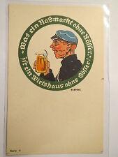 Leoben - Gösser-Bier - Student mit Schmiss / Studentika