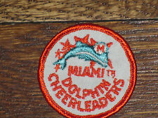 miami dolphins cheerleaders  patch, new old stock,,1960's