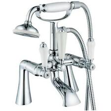 Antique Style Chrome Bathroom Bath Mixer Tap With A Shower Attachment (Swan 4)