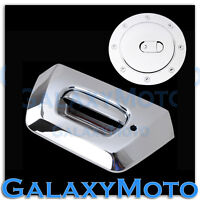 02-06 Chevy AVALANCHE 1500+2500 Chrome Tailgate+Keyhole Handle+Gas Tank Cover