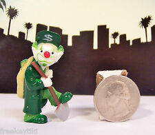 "Homies CLOWN Series 2 Money Bags Mizer Clown $ RARE Figure Figurine 2"" Homie"