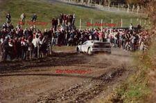 Attilio Bettega MARTINI LANCIA 037 RALLY NEW ZEALAND RALLY 1983 fotografia 7
