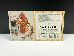 Vintage LAWSON WOOD Pops-Cycle Marketing Postcard Ice Creem Cash Or Trade