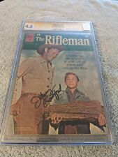 THE RIFLEMAN #10 (Dell 1962) CGC 4.5, SIGNED BY JOHNNY CRAWFORD