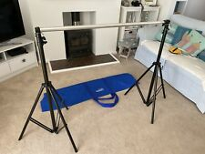 Lastolite Heavy Duty Background Support Stand, Telescopic Pole And Carry Bag.