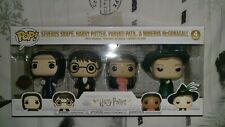 HARRY POTTER FUNKO POP 4 PACK SPECIAL EDITION SET