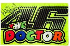 VR46 Valentino Rossi MotoGP Flag The Doctor 46 Flag 500/VRUFG  266003 - 140x90cm