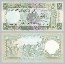 Siria/Syria 5 pounds 1991 p100e unz.