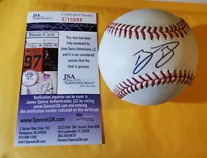 BO BICHETTE  -- AUTOGRAPHED / SIGNED MAJOR LEAGUE BASEBALL -- JSA CERTIFIED