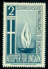 Hungary Aid for Hungary, Austria 2sh og Nh