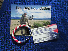PATRIOTIC RED WHITE & BLUE ROLL ON BRACELET + MORE - HELPS SEAL DOG FOUNDATION