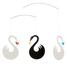 Swan Fantasy Flensted Mobile Modern Danish Decor Hanging Mobile