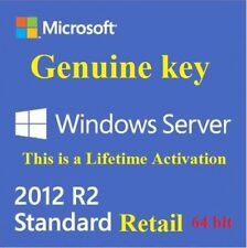 Key Windows Server 2012 R2 Standard Edition retail