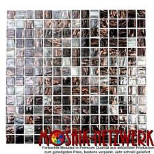Mosaik Goldensilk dunkelgrau Fliesenspiegel Küche Wand Art: 54-0108 | 10 Matten