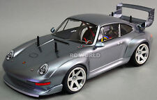 TAMIYA 1/10 RC Car PORSCHE 911 GT2 TURBO TA02SW 2.4GHZ Gun Metal -RTR-