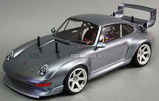 TAMIYA 1/10 RC Car PORSCHE 911 GT2 TURBO TA02SW 2.4GHZ Gun Metal -RTR-