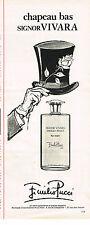 PUBLICITE ADVERTISING 035  1977  EMILIO PUCCI   parfum homme SIGNOR VIVARA