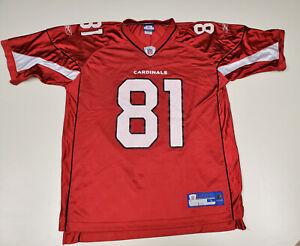 Arizona Cardinals Anquan Boldin #81 Reebok Replica NFL Jersey - Size L Large