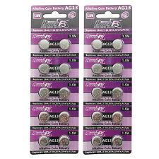 20PCS AG13 LR44 LR154 157 303 1.5V Alkaline Button Cell Watch Battery HyperPS