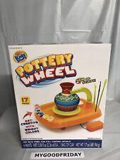 Kids Stuff Pottery Wheel Kit. 17 Pieces