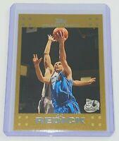 2007-08 Topps Gold /2008 J.J. Redick #106 NBA Orlando Magic Basketball Card