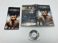 Sony PlayStation Portable PSP UMD Tested Complete X-Men Origins: Wolverine