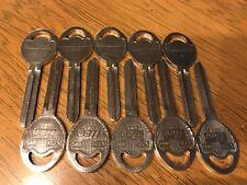 Lot of 10 ILCO B80 Gm  Key Blanks
