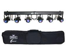 CHAUVET DJ 6Spot LED Powered Color-Changer Light System with Lighting Bag