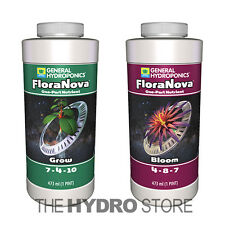 General Hydroponics FloraNova Grow Bloom Pint - gh flora nova 16oz pt