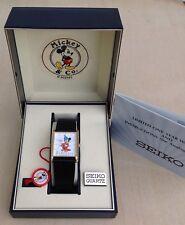 Seiko Mickey Mouse Fantasia Sorcerer Apprentice Men's Watch Wrist Watch Rare