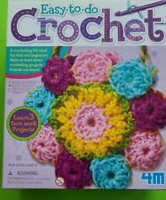 4M 2737 Easy To Do Crochet Kit, For Kids and Beginners, Ages 8+