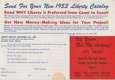 1953 Liberty Display Fireworks Brochure Franklin Park, Illinois/Near Chicago