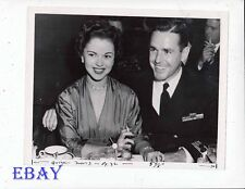 Shirley Temple w/husband 1952 VINTAGE Photo