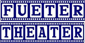 Personalized Door  Theater Decals Navy Blue with white background  (small)