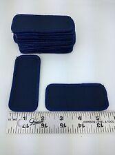 "20 Lot Blank Dark Blue Navy Blue Shirt Name Tag Uniform Patches 3 5/8"" x 1 5/8"""