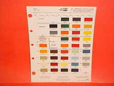 1981 IH INTERNATIONAL TRUCK TRANSTAR EAGLE COE S XL SERIES 9200 9400 PAINT CHIPS