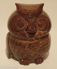 1970s Vintage OWL Cookie Jar -- USA 204  -- GREAT CONDITION