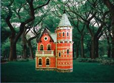 Victorian Doll House 3 Dollhouse Miniature Scale 1:12 Model Kit CARDBOARD 3D
