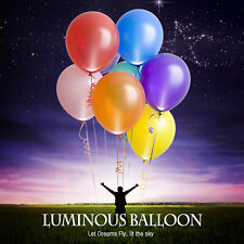 6x Colorful LED Balloons Flash Light Wedding Birthday Party Festival Decorations