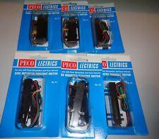More details for peco pl-11 point motors x 6 mip                       1300h4615