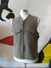 Archival Stone Island Italy Heavy Cotton Utility Vest