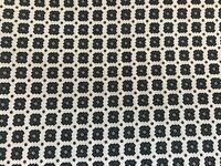 BAUMWOLLSTOFF 🌹BLUSENSTOFF 🌺 QUADRATE 🌹GRAU/WEIß 🌺NEU ✂️💈1,45m x 90cm💈✂️