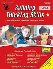 Building Thinking Skills: Building Thinking Skills Level 1 by Sandra Parks...