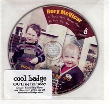 (GP446) Rory McVicar, Now That You're Mine - 2007 DJ CD