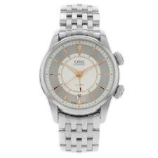 Relojes de pulsera Oris de plata