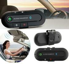 Bluetooth Car Speakerphone Wireless Handsfree Car Kit Visor Clip for Android iOS
