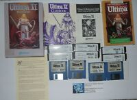 Ultima 6 VI: The False Prophet (PC, 1990) Missing Manual Has Cluebook and Map!