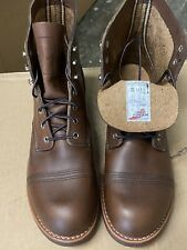 Red Wing Shoes Iron Rangers Amber Harness 8111. Size 11 D