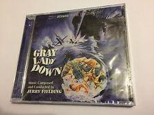 GRAY LADY DOWN (Jerry Fielding) OOP Intrada Ltd Score OST Soundtrack CD SEALED