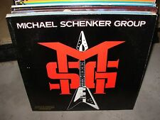 MICHAEL SCHENKER msg & self titled ( rock ) PROMO - 2 LP LOT -